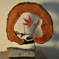 Resin Inclusion - Maple Leaf