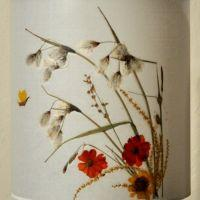 Flowered Lampshade - Linaigrette orange
