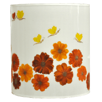 Flowered Lampshade - Cosmos