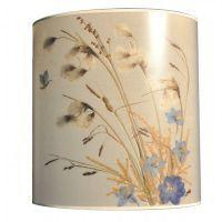 Flowered Lampshade - Linaigrette bleu